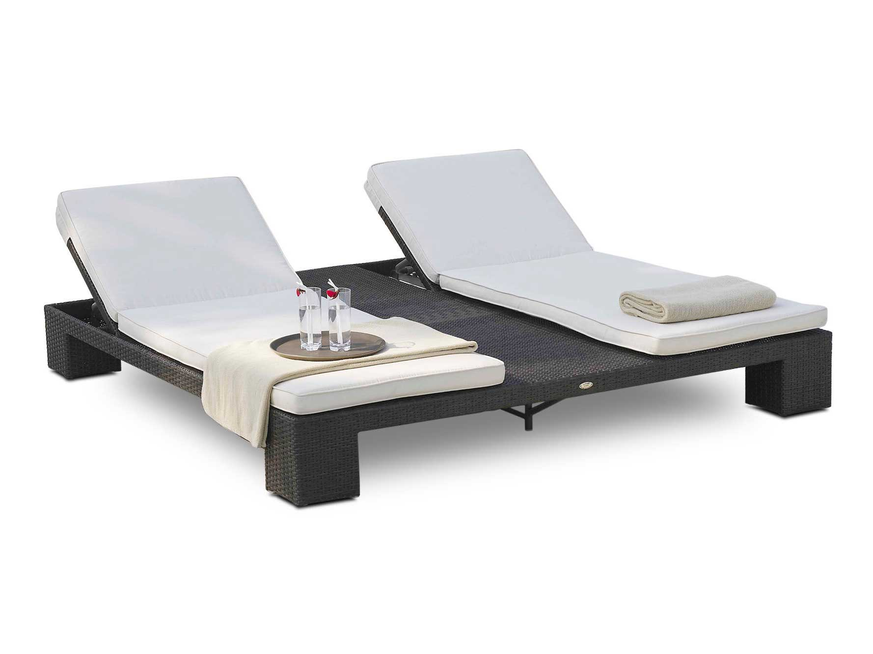 double bain de soleil de jardin relaxation sunny de lusso 6043. Black Bedroom Furniture Sets. Home Design Ideas