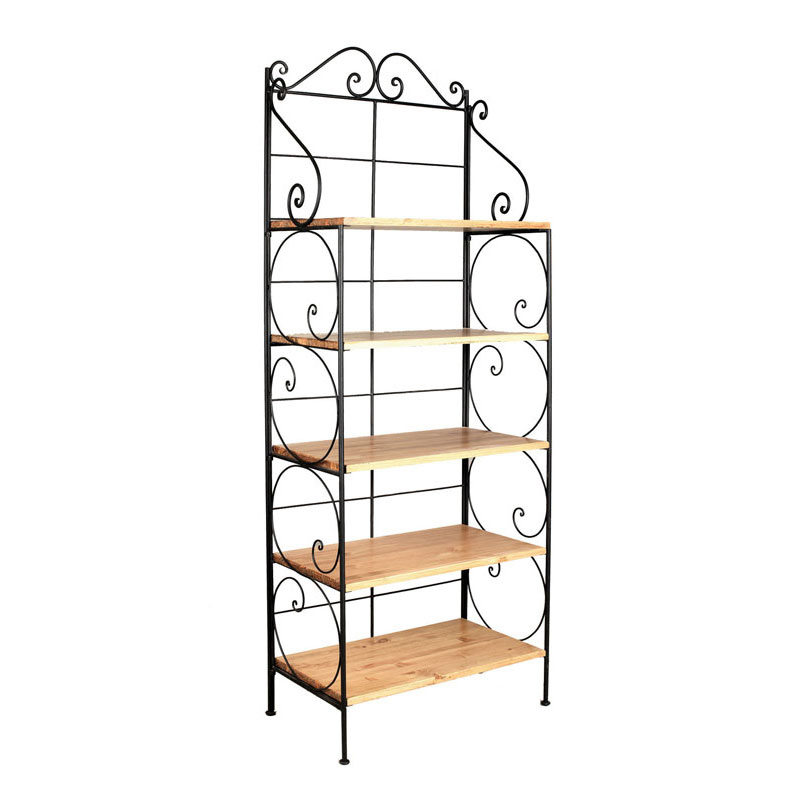 etagere en fer forge. Black Bedroom Furniture Sets. Home Design Ideas