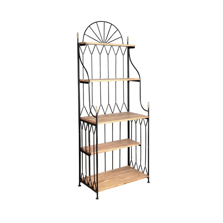 awesome etagere murale jardin pictures. Black Bedroom Furniture Sets. Home Design Ideas