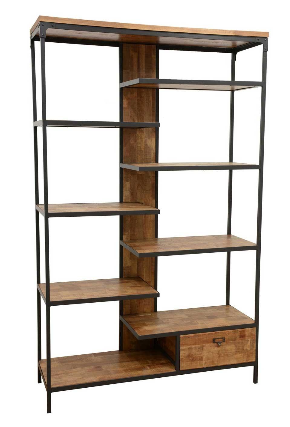 indus tag re industrielle bois et m tal. Black Bedroom Furniture Sets. Home Design Ideas