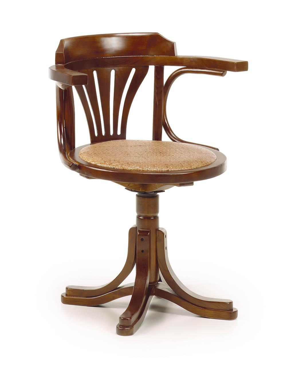 fauteuil de bureau giratoire mawan le charme du r tro. Black Bedroom Furniture Sets. Home Design Ideas