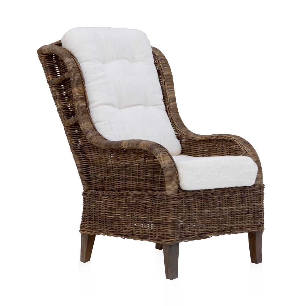 fauteuil de relaxation grand m re tress en rotin smirit 4574. Black Bedroom Furniture Sets. Home Design Ideas