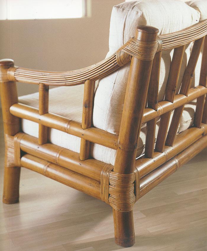 fauteuil bambou et rotin noka 4894. Black Bedroom Furniture Sets. Home Design Ideas
