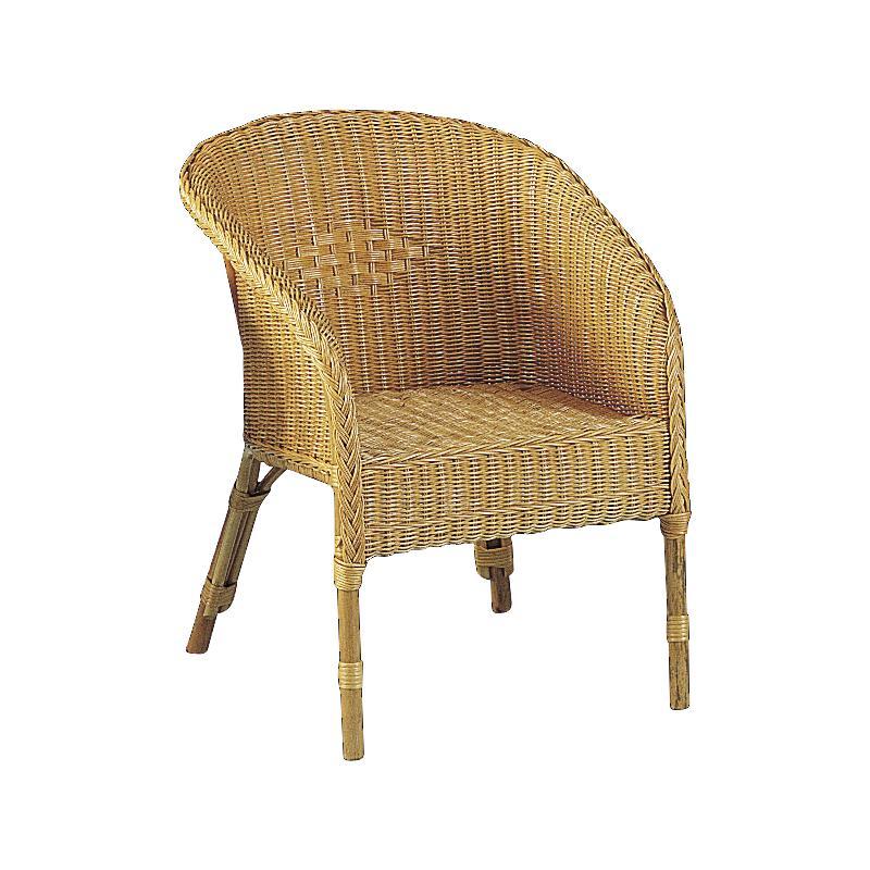 fauteuil vintage moelle de rotin miel. Black Bedroom Furniture Sets. Home Design Ideas