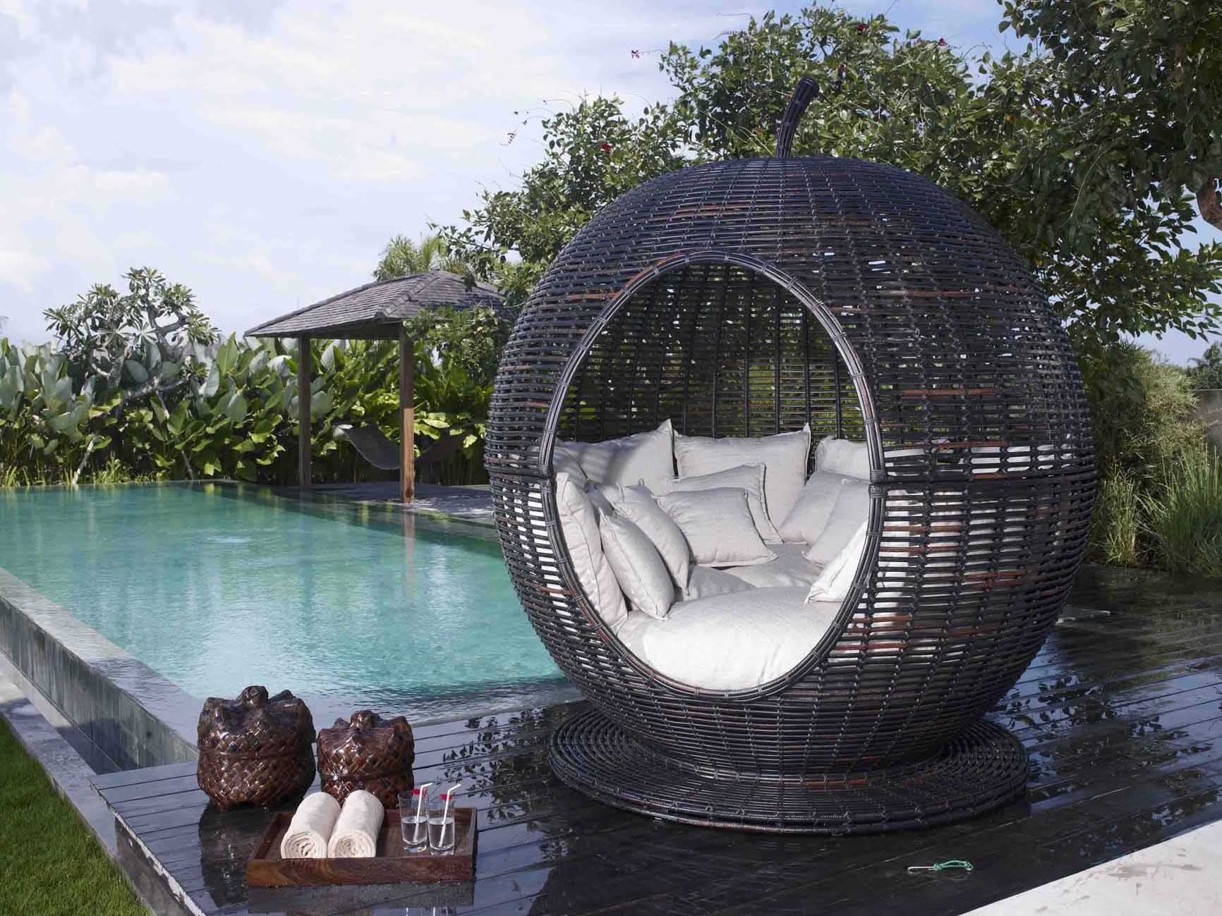 meuble de jardin en aluminium et r sine igloo 6053. Black Bedroom Furniture Sets. Home Design Ideas