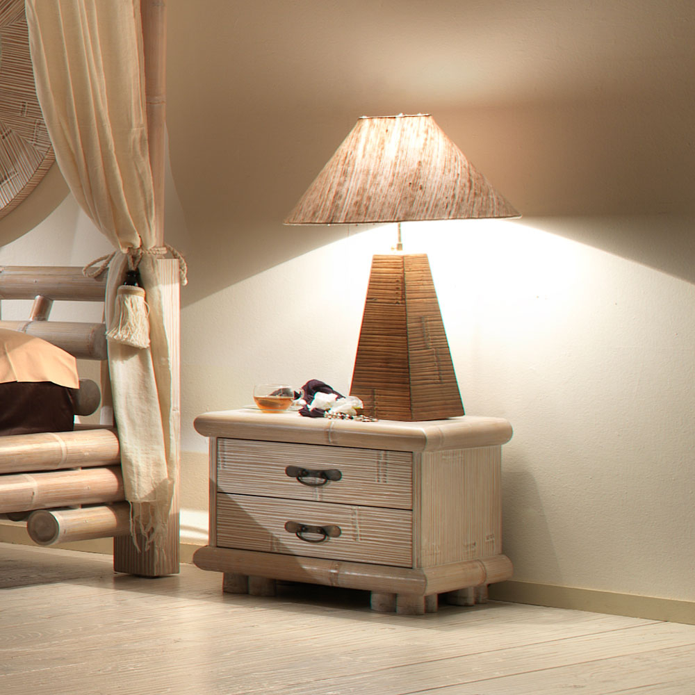 Indah, lampe de chevet, bambou