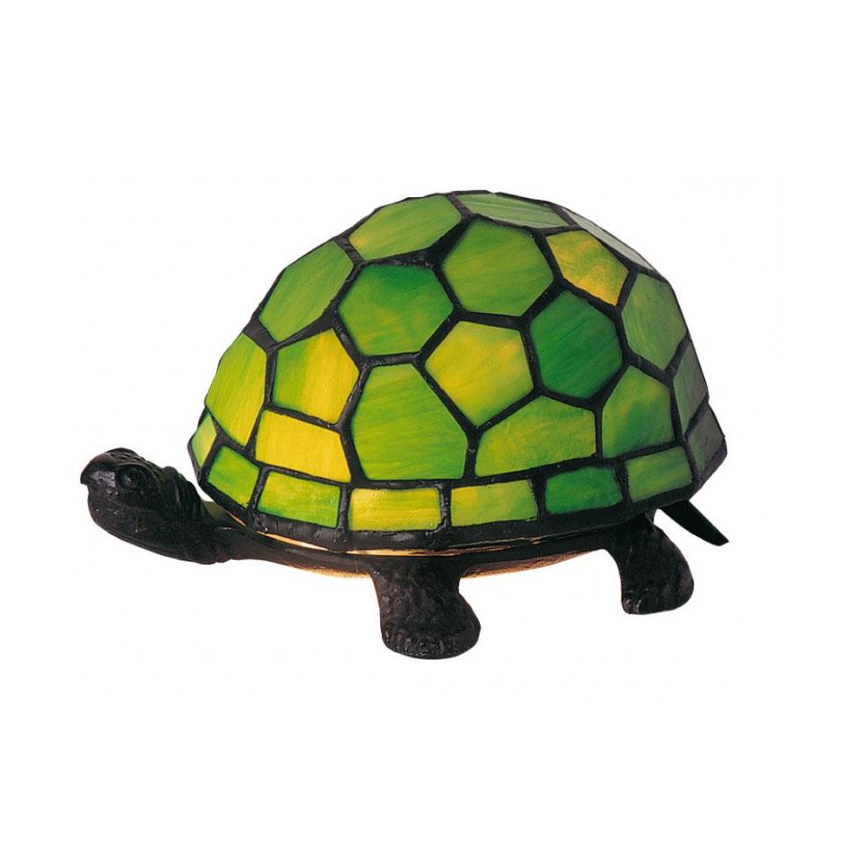 Lampe tortue verte style tiffany 5146 - Lampe chauffante tortue ...
