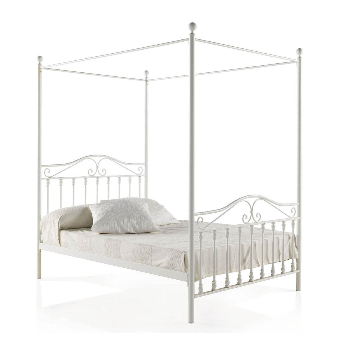 lit fer forg baldaquin personnaliser sorn 6125. Black Bedroom Furniture Sets. Home Design Ideas