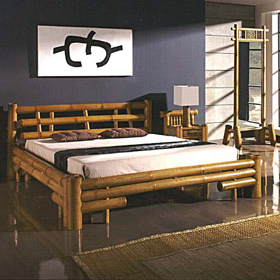 lit bambou lambok un meuble d 39 exception aux lignes pur es. Black Bedroom Furniture Sets. Home Design Ideas