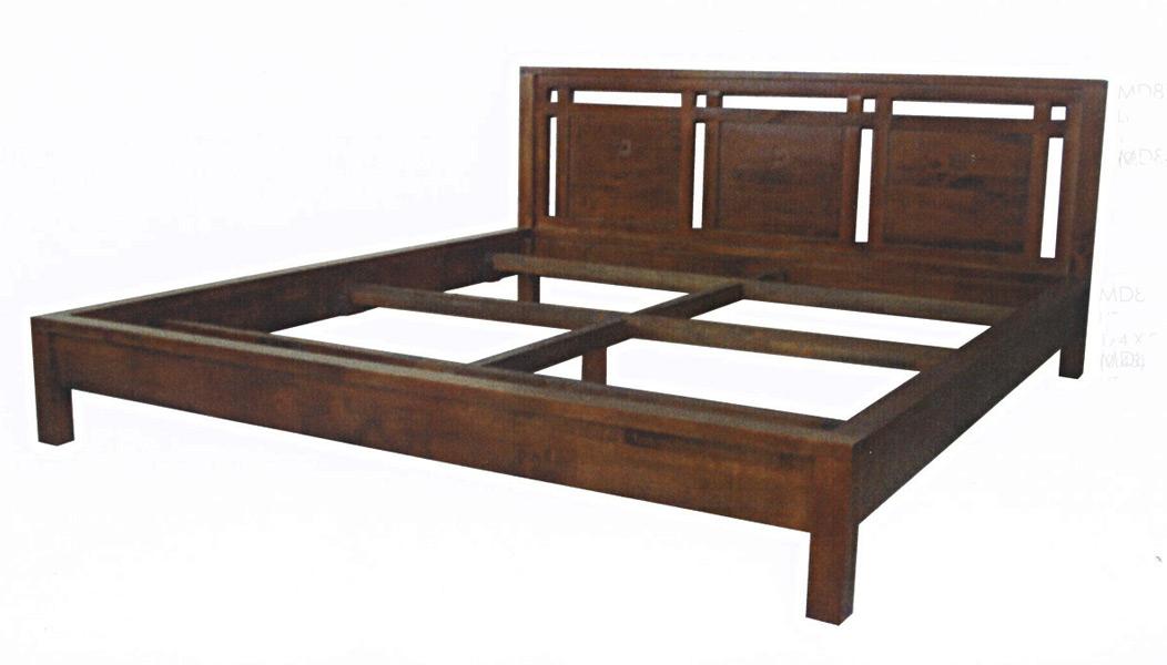 Armoire Chambre Style Colonial : Lit en bois style colonial modèle tahoma