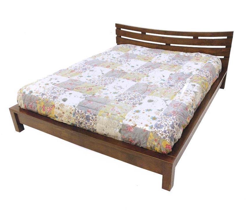 lit exotique en bois recycl d 39 h v a mod le wakae. Black Bedroom Furniture Sets. Home Design Ideas