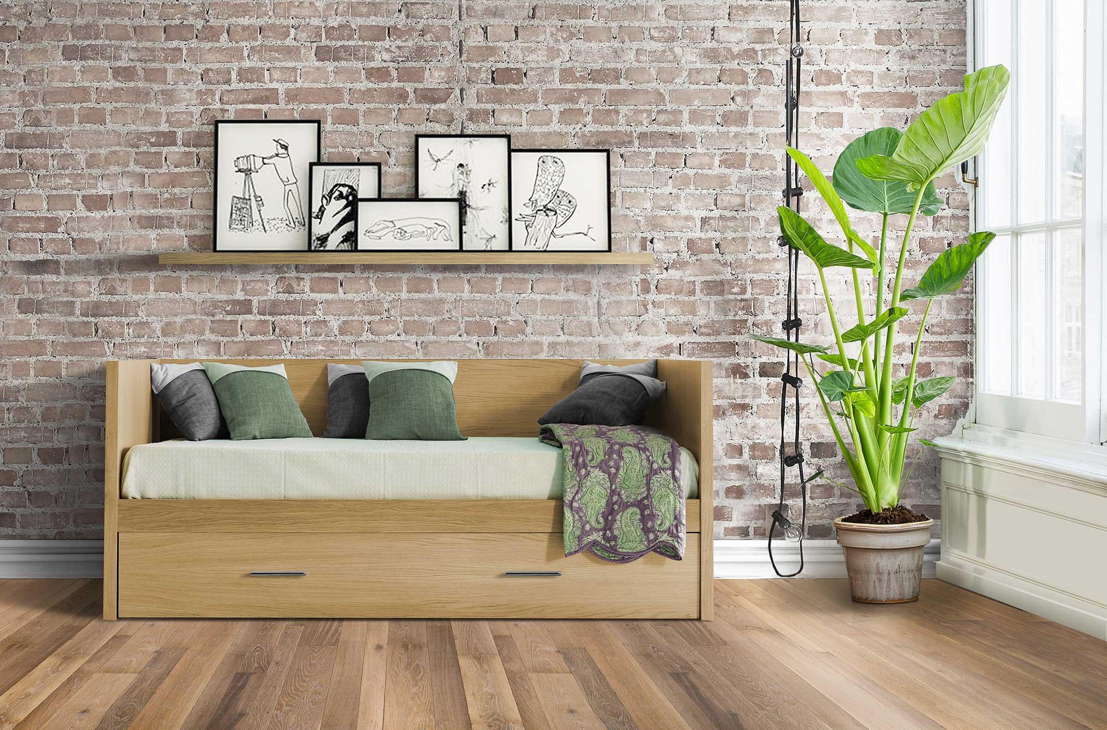 Lit-gigogne Gorje : un meuble d\'appoint design et fonctionnel