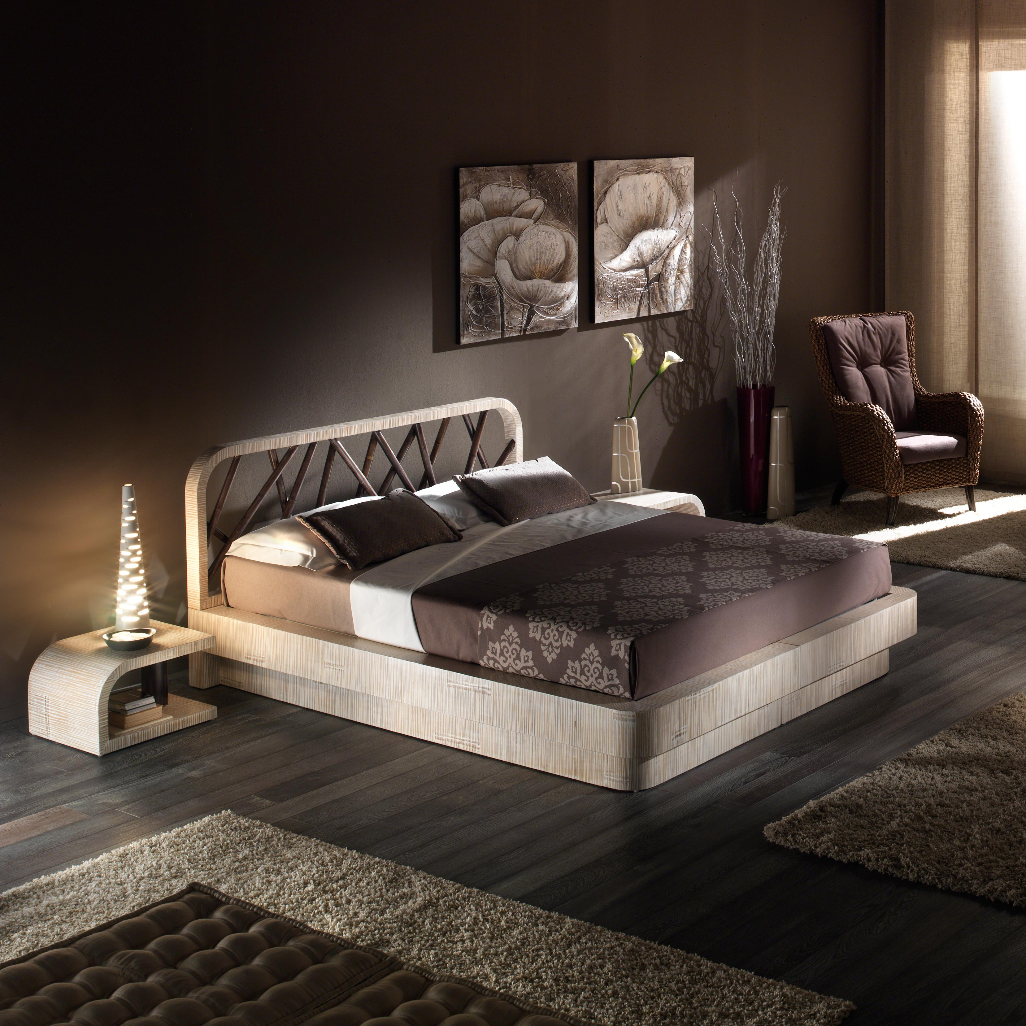 lit moderne 2 personnes rangement dissimul mod le datilla. Black Bedroom Furniture Sets. Home Design Ideas