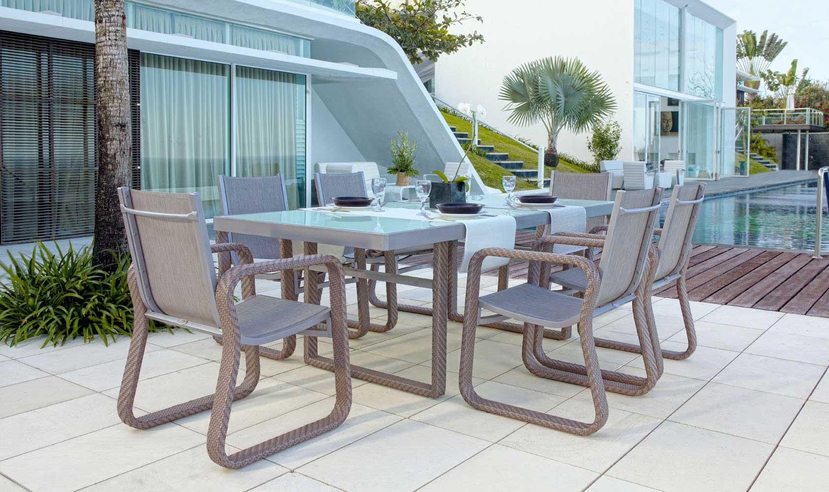 table repas de jardin majeste 6070. Black Bedroom Furniture Sets. Home Design Ideas