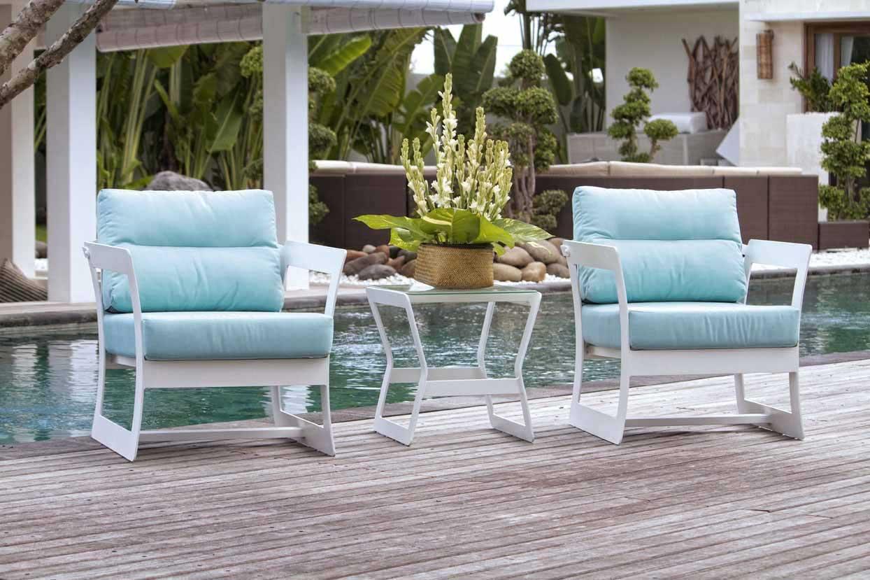 fauteuil de jardin aluminium design marine de lusso 6046. Black Bedroom Furniture Sets. Home Design Ideas