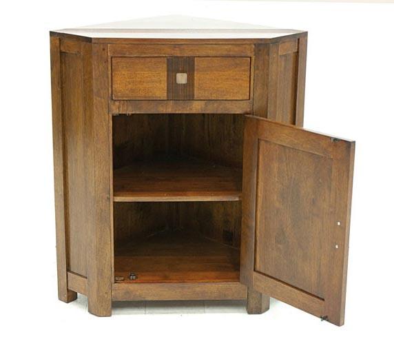 meuble d 39 angle pour la cuisine 1 porte personnalisable. Black Bedroom Furniture Sets. Home Design Ideas