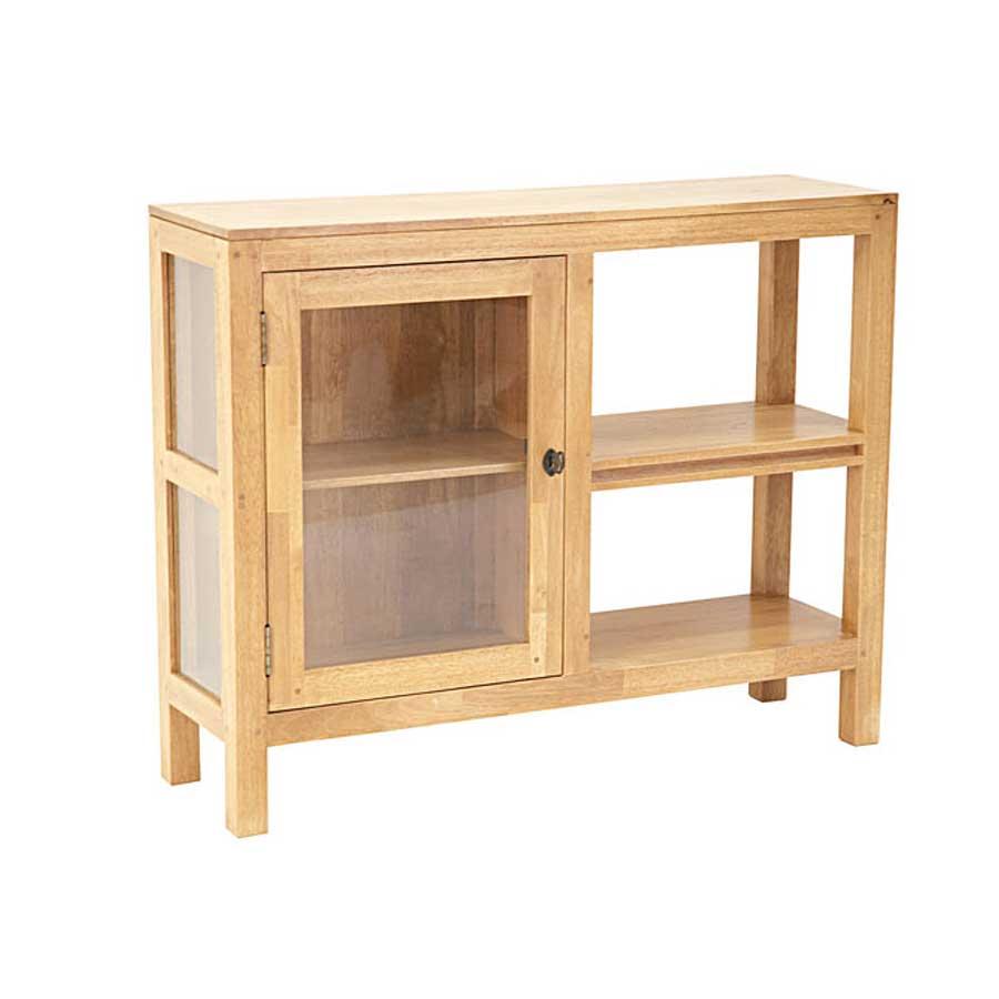 Meuble salle de bain bois calveth 5479 for Meuble de salle de bain en bois brut