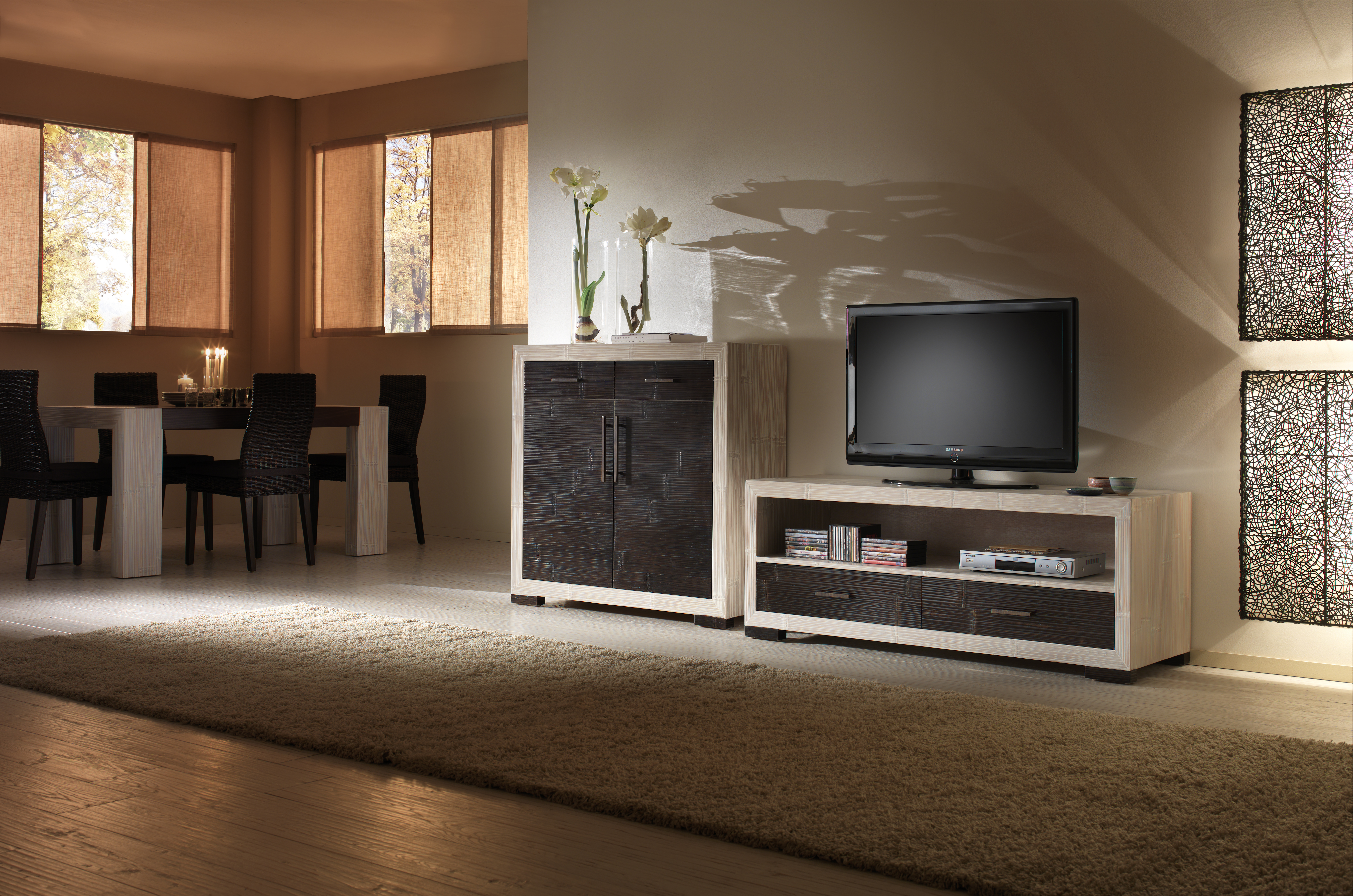 Meuble T L Vision Moderne 150 Cm De Longueur Collection Indah # Vision Confort Meuble Tv