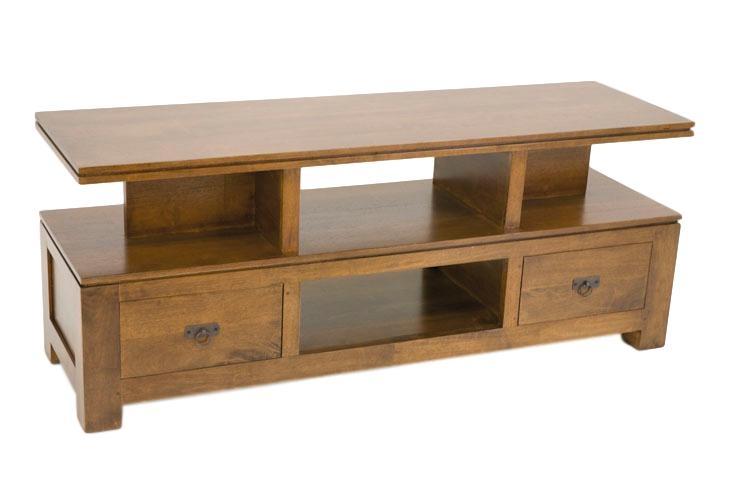 Quixa meuble t l moderne avec rangement - Meuble tele avec rangement ...