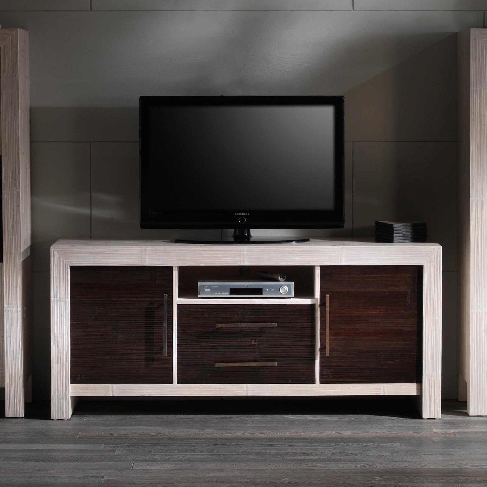 meuble cabinet moderne en bois de mindi et bambou couleur au choix collection indah. Black Bedroom Furniture Sets. Home Design Ideas