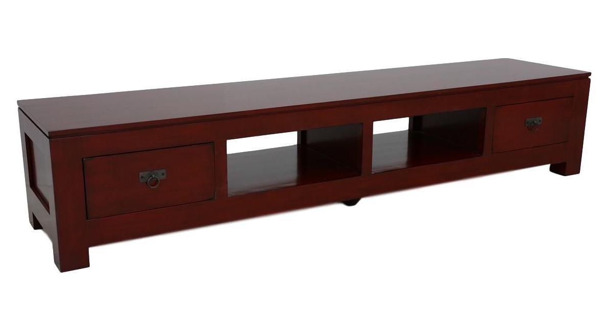 meuble tv long. Black Bedroom Furniture Sets. Home Design Ideas