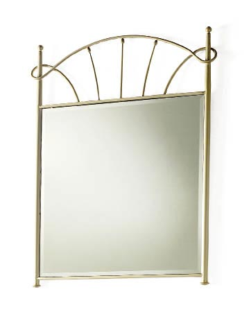miroir fer forg 80 100 lothil 6159. Black Bedroom Furniture Sets. Home Design Ideas