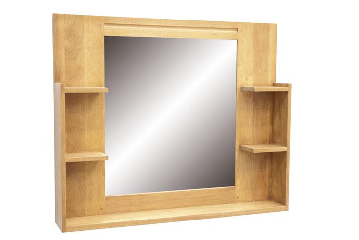 Miroir tag re salle de bain 90 cm calveth 5464 - Miroir salle de bain 90 cm ...