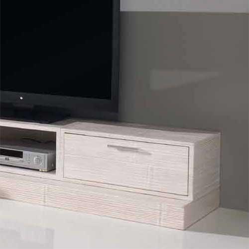 meuble 1 tiroir modulable en bambou c rus blanc indah 5506. Black Bedroom Furniture Sets. Home Design Ideas