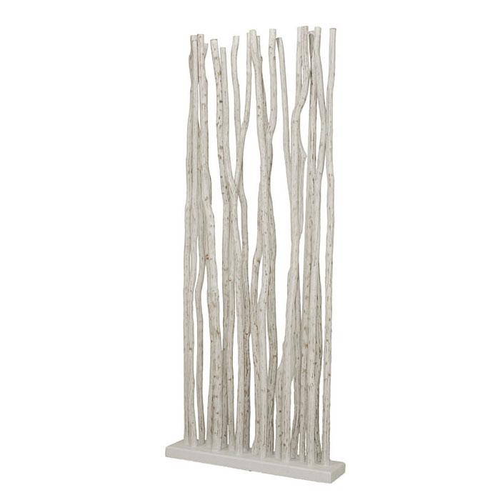 paravent en bois flott bois de mangrove blanchi 4252