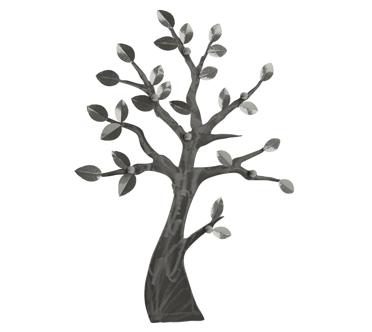 D 39 inspiration nature un bel arbre porte manteaux suspendre for Decoration murale exterieur en metal