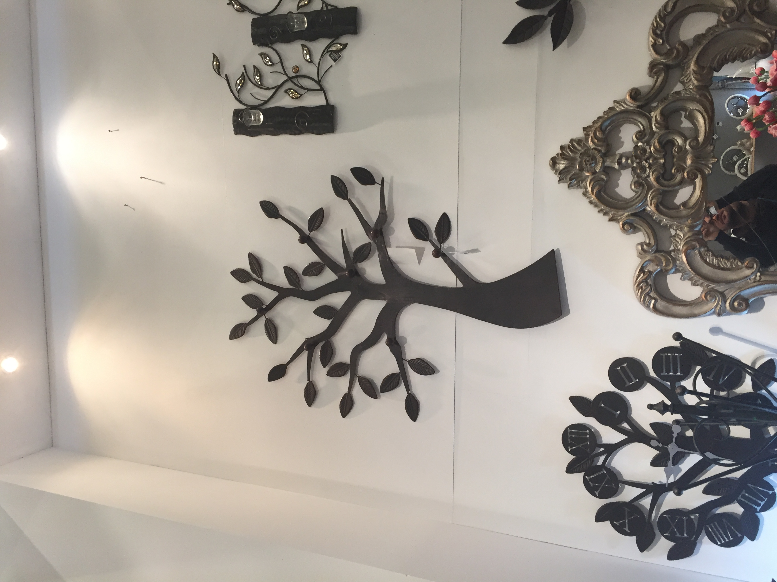 porte manteau arbre mural fashion designs. Black Bedroom Furniture Sets. Home Design Ideas