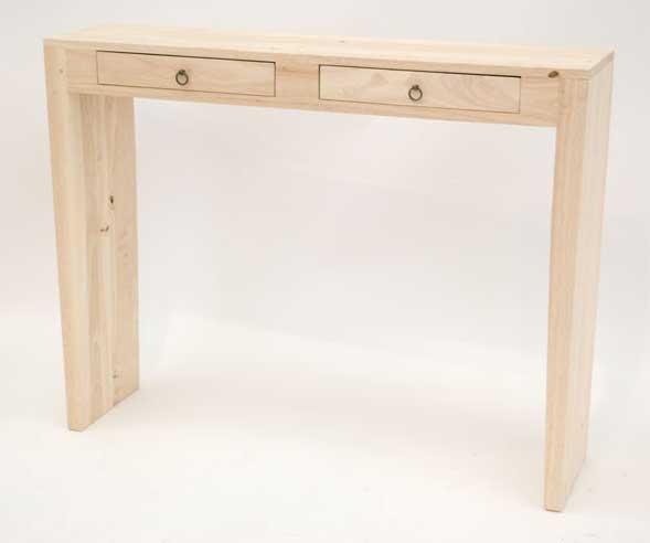 Console bois Art déco #5897 # Petite Console Bois