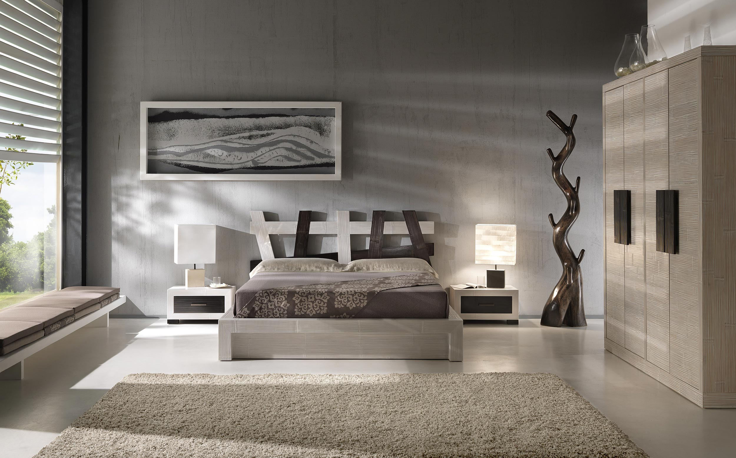 porte manteaux arbre wooden comme un parfum de nature. Black Bedroom Furniture Sets. Home Design Ideas