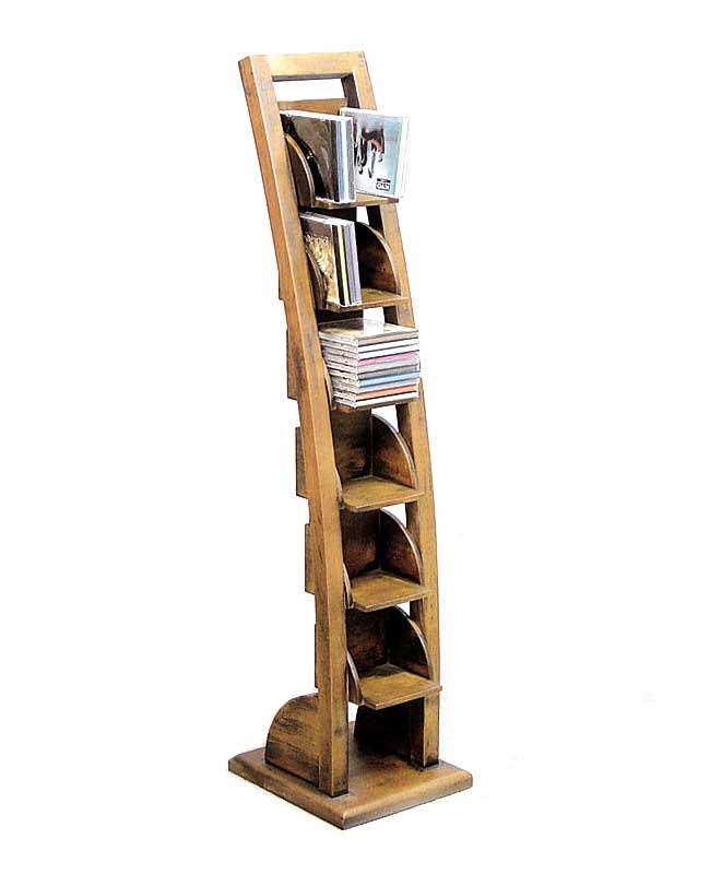 range cd en escalier bois 5168. Black Bedroom Furniture Sets. Home Design Ideas