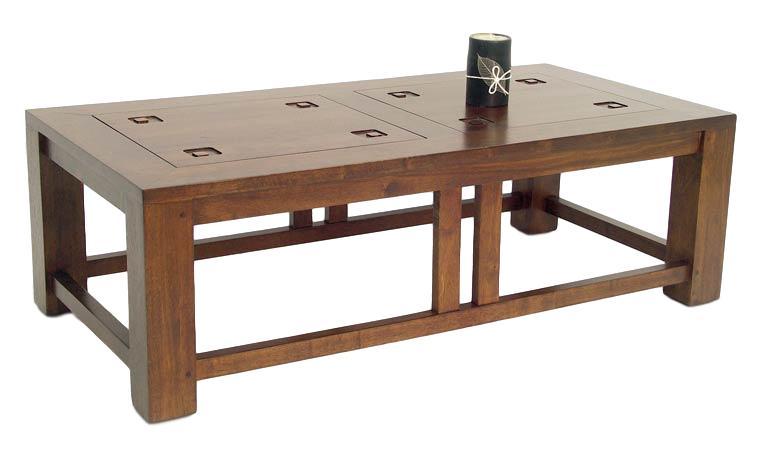 une table basse asiatique dans votre salon. Black Bedroom Furniture Sets. Home Design Ideas