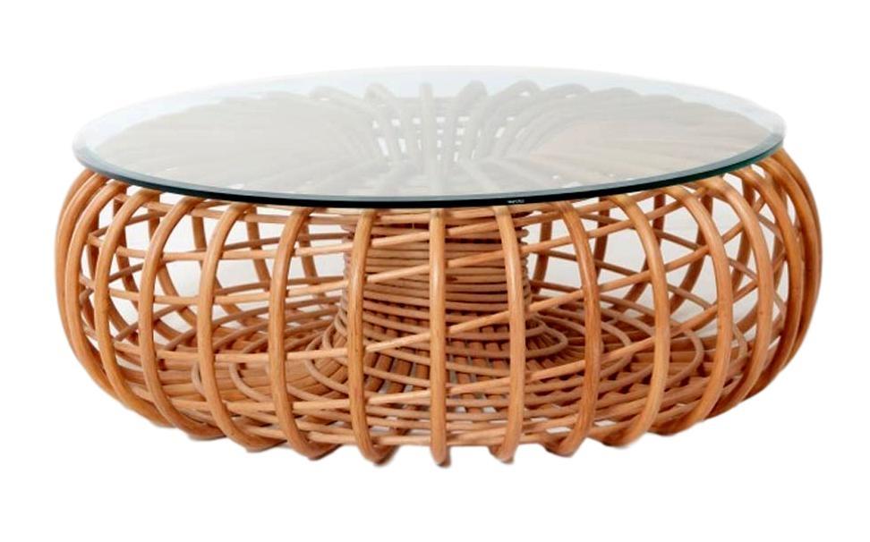 Table Basse En Rotin.Netga Table Basse Rotin Naturel