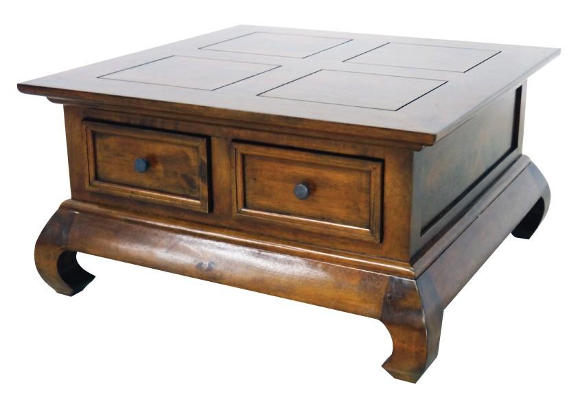 table basse opium 2 tiroirs longueur 75 cm. Black Bedroom Furniture Sets. Home Design Ideas