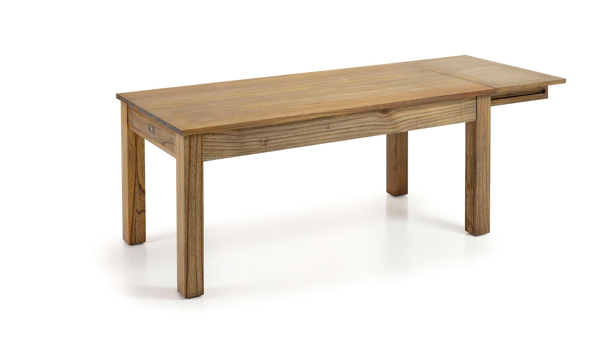 Table manger en bois de mindy plateau 180 90 avec for Table a manger