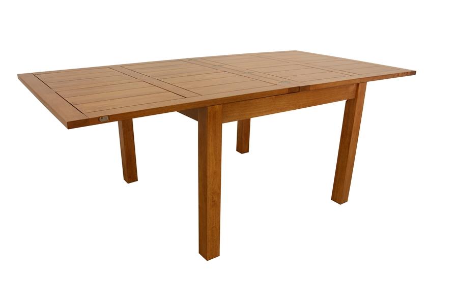 table repas carr e 100 avec allonge de 100 cm 5942. Black Bedroom Furniture Sets. Home Design Ideas