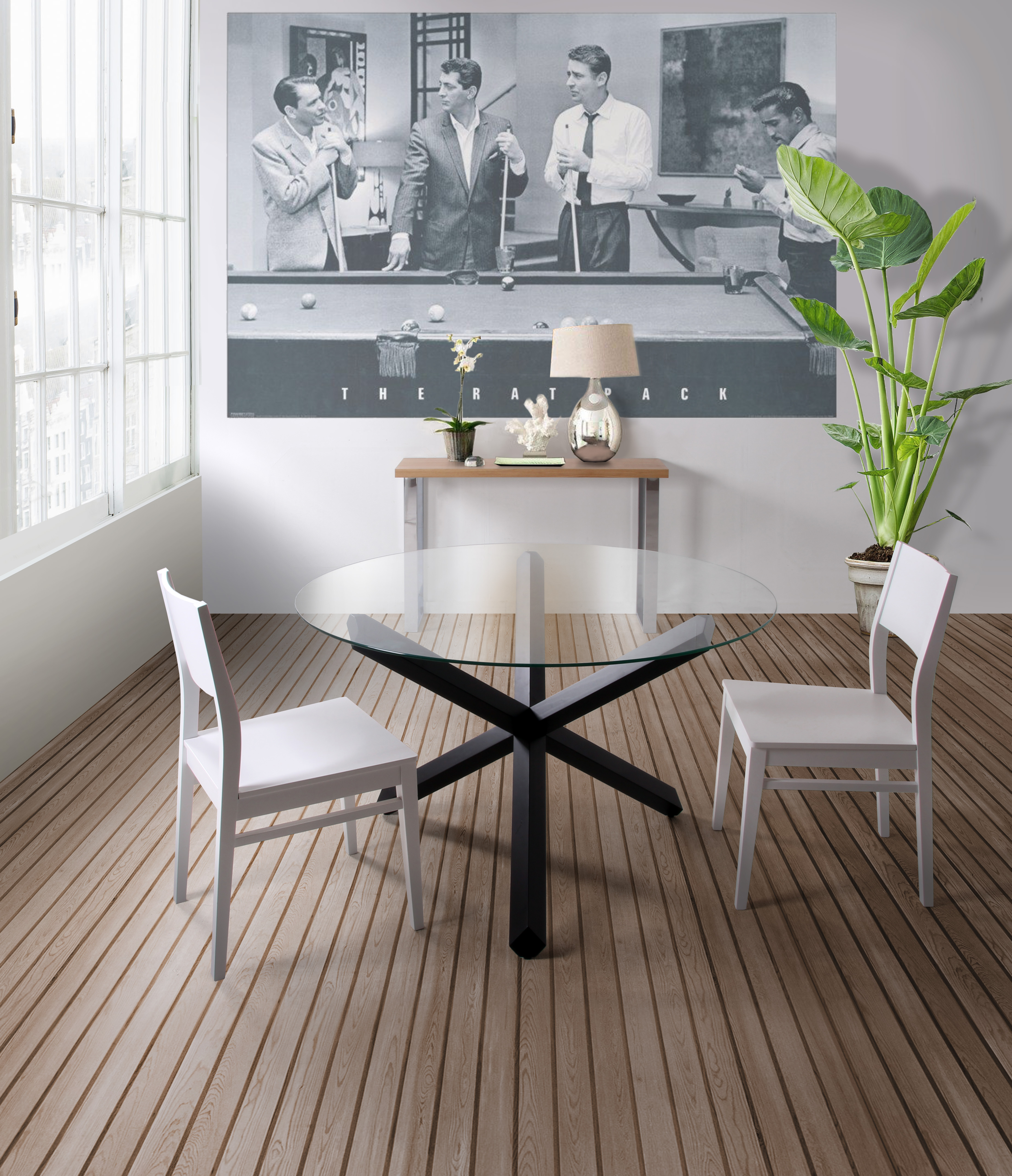 Table Salle A Manger Design Mikado Mighty 5813