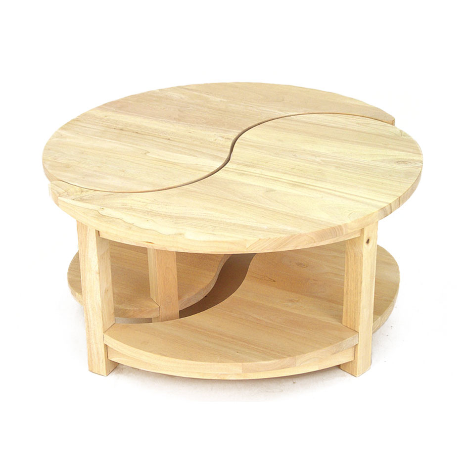 Table basse ronde 2 l ments jorg 5382 for 2 table basse ronde