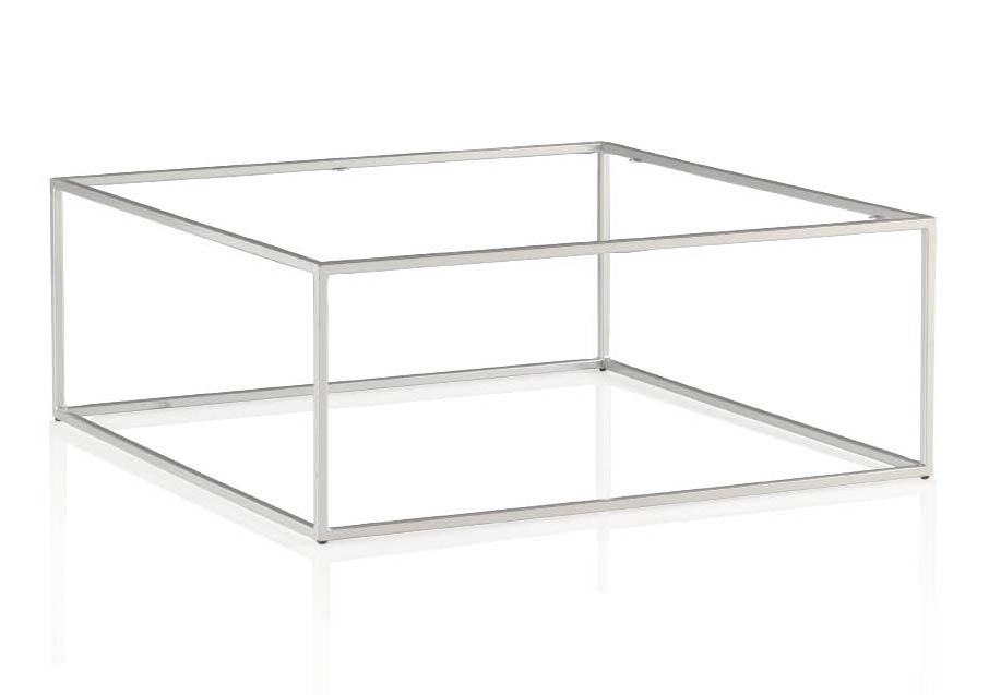 table basse contemporaine m tal et verre cubic 5859. Black Bedroom Furniture Sets. Home Design Ideas
