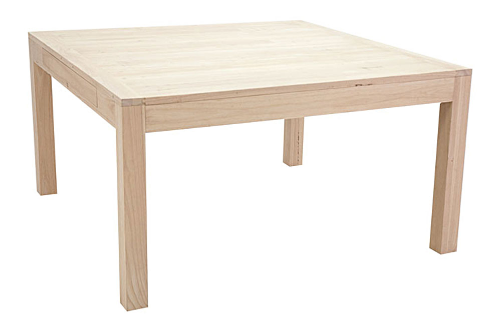 Table repas carr 140 2 rallonges de 40 cm 5946 - Table carre rallonge ...