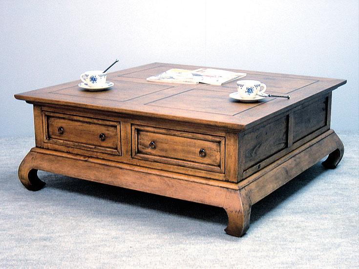 table basse asiatique table basse en noyer et acajou. Black Bedroom Furniture Sets. Home Design Ideas