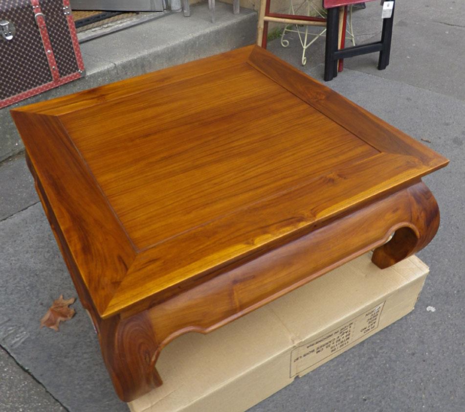 Table Basse Carrée Modèle Opium Cm En Teck X 80 XiPkuOZ