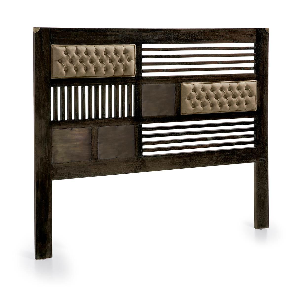 t te de lit en bois de mindy m tal grand mod le 165 cm de longueur. Black Bedroom Furniture Sets. Home Design Ideas