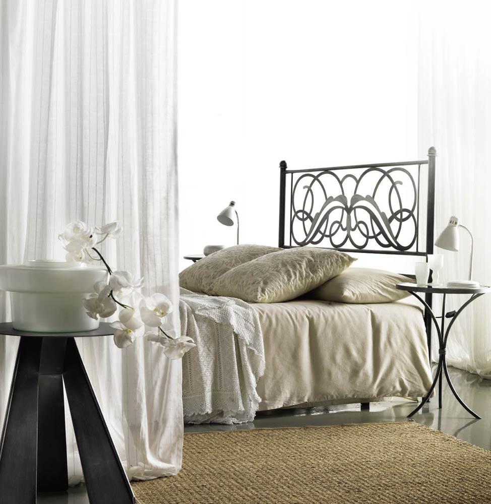 t te de lit m tal et fer forg niza 5848. Black Bedroom Furniture Sets. Home Design Ideas