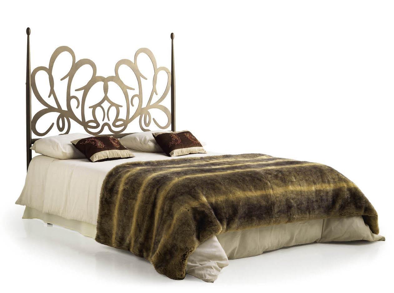 t te de lit design en m tal et fer forg pos don 5850. Black Bedroom Furniture Sets. Home Design Ideas