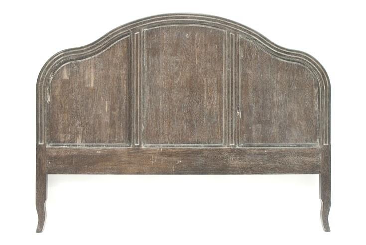 Lit adulte style romantique régence en bois personnalisable modèle
