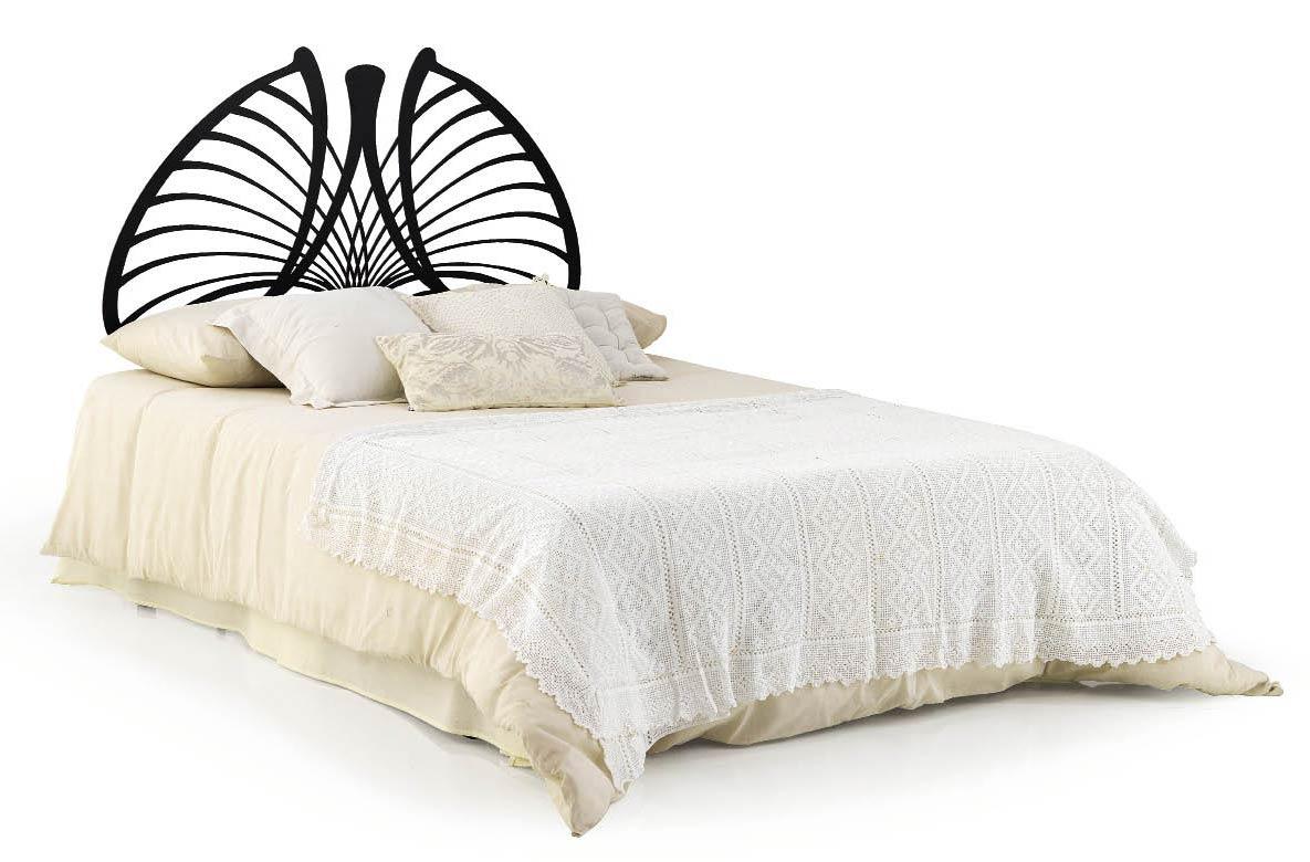 la t te de lit en fer forg ursula la cr ativit et le. Black Bedroom Furniture Sets. Home Design Ideas